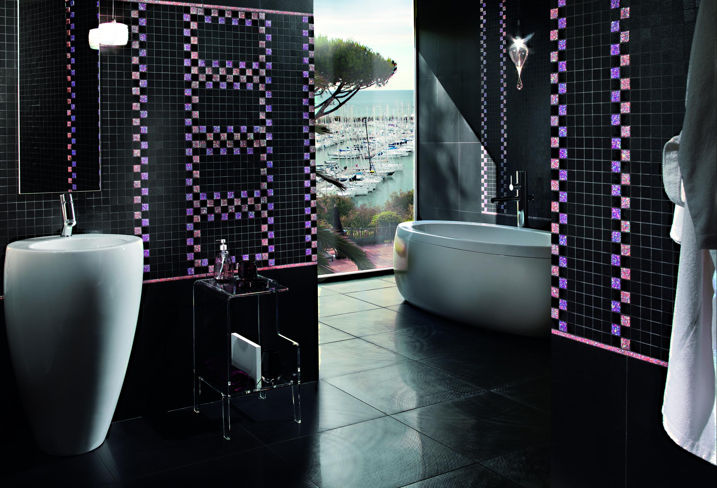 Leuchtendes Mosaik Bad Reiter Fliesen